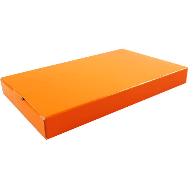 SendProof® Fits through letterbox - box, Cardboard, 160x255x28mm, orange  1