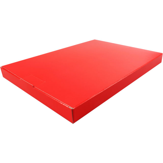 SendProof Fits through letterbox - box, Cardboard, 250x350x28mm, red 1