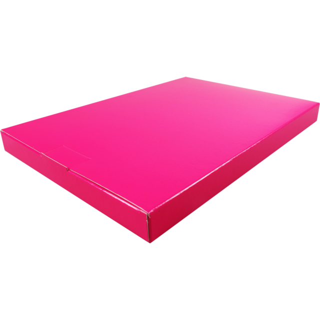 SendProof® Fits through letterbox - box, A4, Cardboard, 250x350x28mm, pink 1