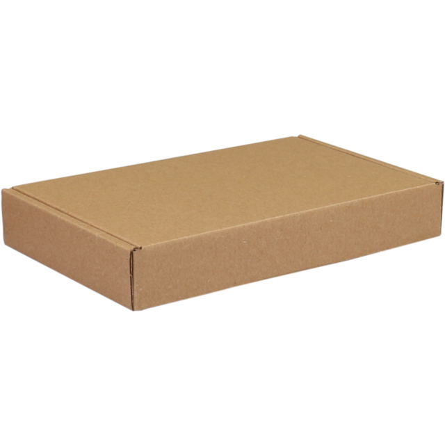 SendProof Fits through letterbox - box, 180x115x28mm, brown 1