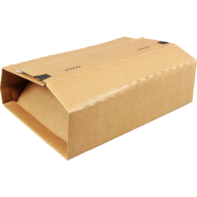 SendProof® Book packaging, Corrugated cardboard, 305x230x92mm, brown 1