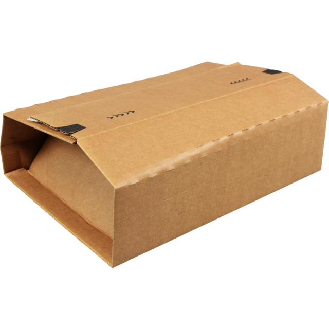 SendProof® Book packaging, Cardboard, 350x260x70mm, brown 1