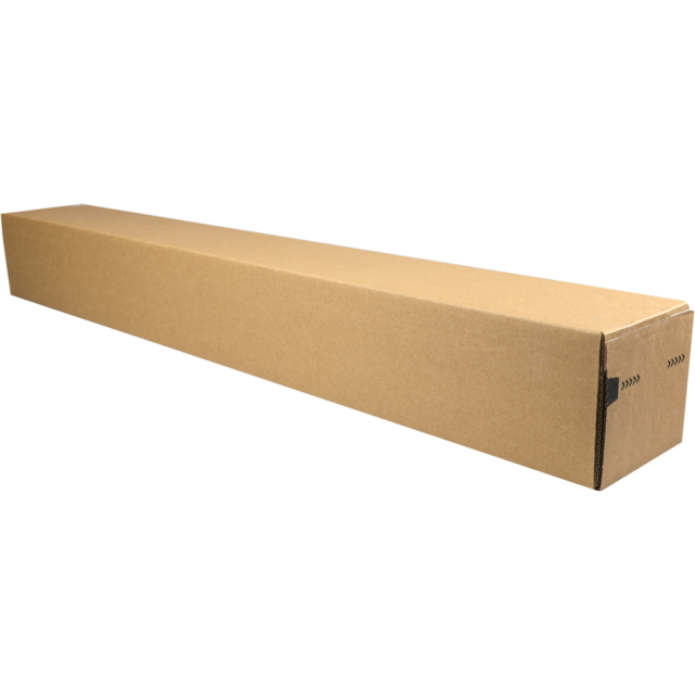 Tube, Cardboard, square , 105x105x860mm, brown 1