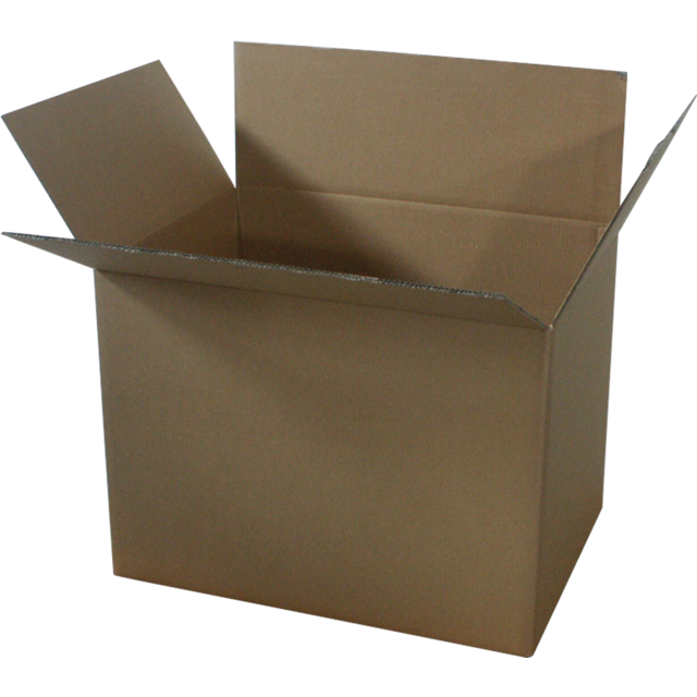 American folding box, Corrugated cardboard, 1000x600x500mm, double corrugation, brown 1