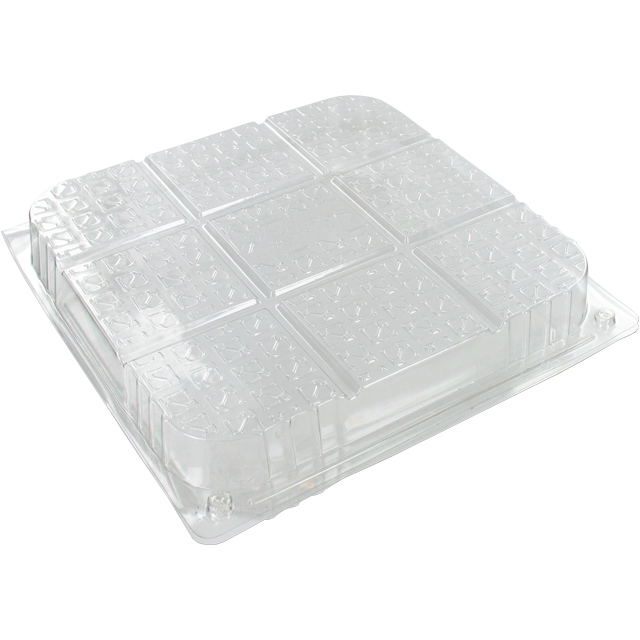 Blister, cake box, PET, 200x50x200mm, transparent 1
