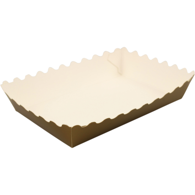 Container, Cardboard, 115x75x25mm, gold 1