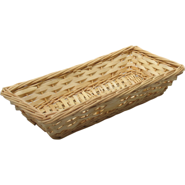 Basket, Wilg, 37x17x7cm, natural 1