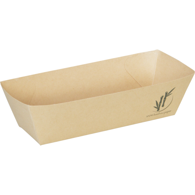 Container, Bamboepapier/PE, A5, Taps toelopend, a-container, 130x69x35mm, natural 1