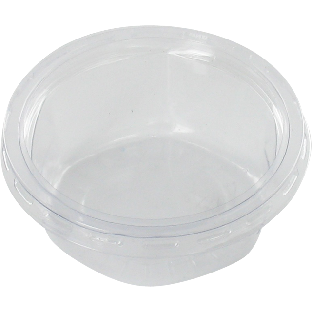 Container, PVC, 80ml, Sauce cup, plastic cup, transparent 1