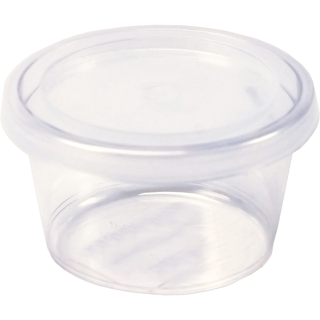 Barquette, PS, 30ml, gobelet en plastique, 30mm, transparent 1