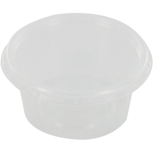 Container, PP, 80ml, Ø72mm, plastic cup, 35mm, transparent 1