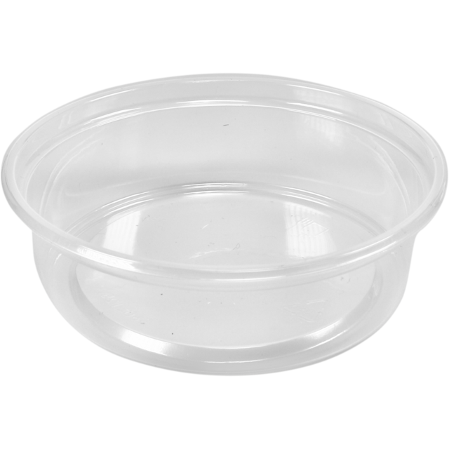 Container, PP, 250ml, Ø101mm, plastic cup, transparent 1