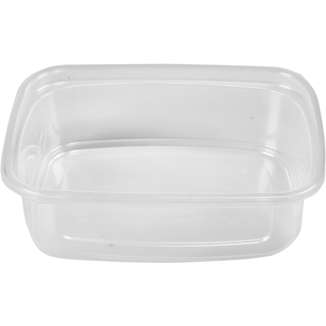 Barquette, PP, 150ml, gobelet en plastique, 108x82x30mm, transparent 1