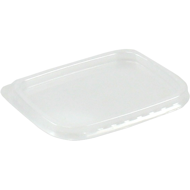 Lid, PP, rectangular, 108x82mm, transparent 1