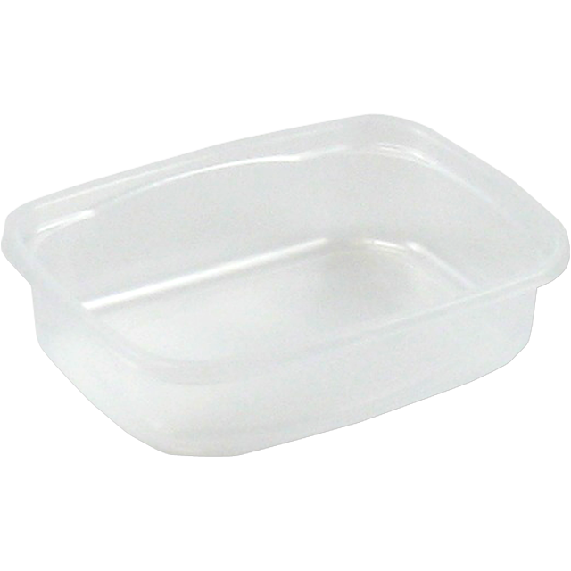 Container, PP, 125ml, plastic cup, 108x82x27mm, transparent 1