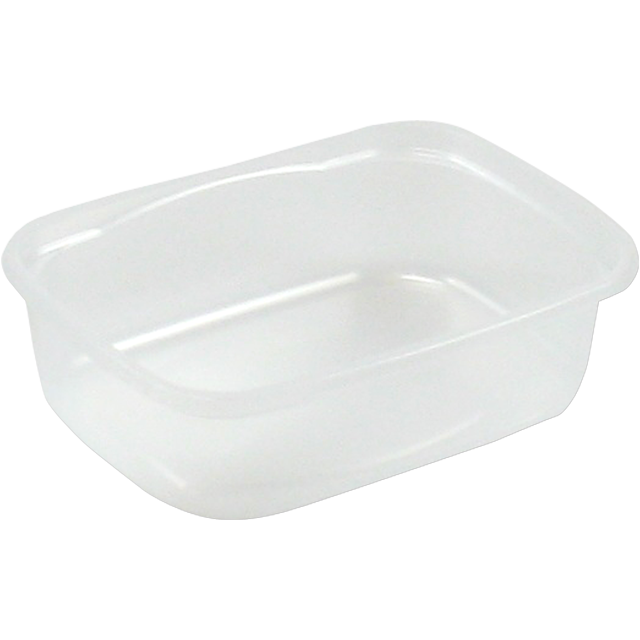 Container, PP, 150ml, plastic cup, 108x82x31mm, transparent 1