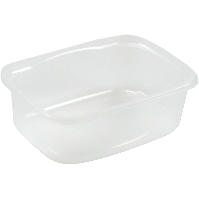 Barquette, PP, 175ml, gobelet en plastique, 108x82x37mm, transparent 1