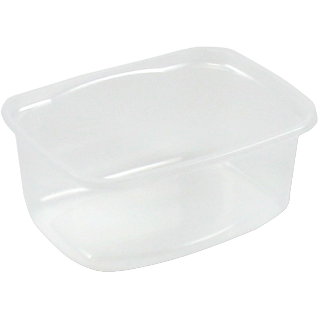Container, PP, 250ml, plastic cup, 108x82x45mm, transparent 1