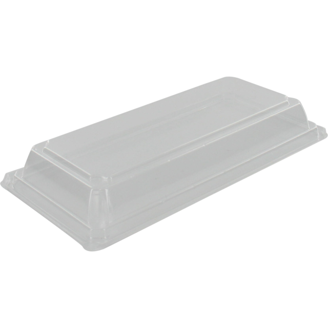 Lid, OPS, rectangular, 166x85mm, transparent 1