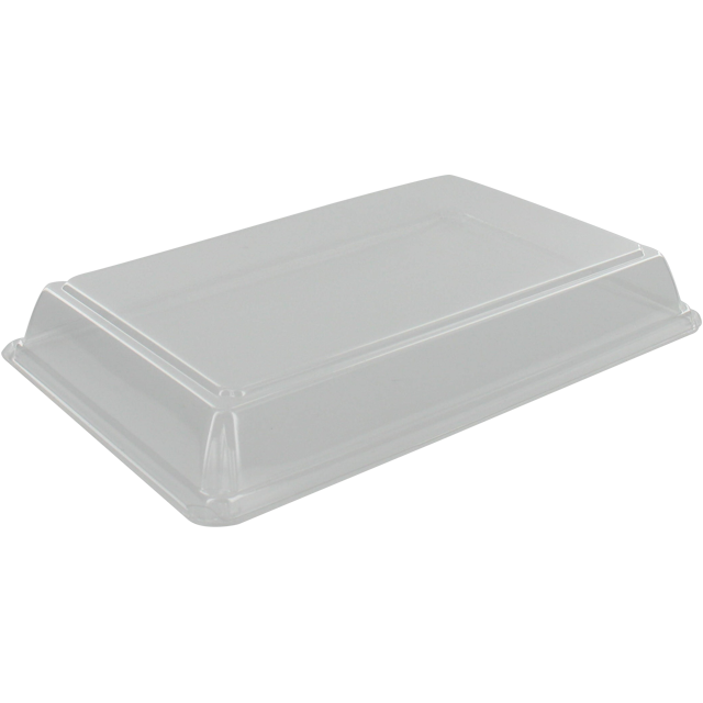 Couvercle, OPS, rectangulaire, 208x138mm, transparent 1