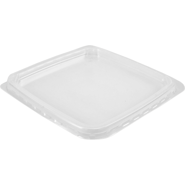 Lid, PP, 114x114mm, transparent 1