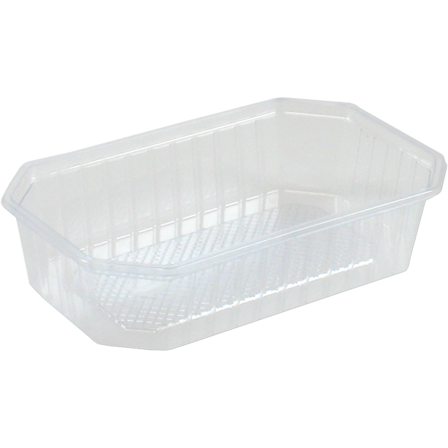Container, PS, 600ml, 187x46x46mm, transparent 1