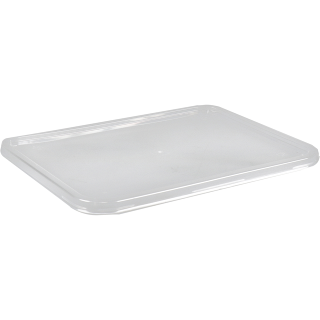 Lid, PP, rectangular, 182x135mm, transparent 1