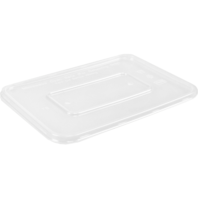 Lid, PP, 172x120mm, transparent 1
