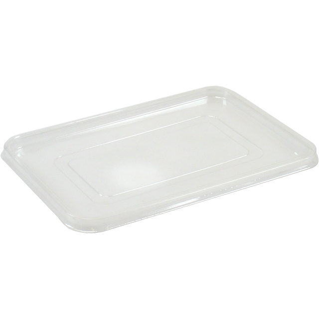 Lid, PS, rectangular, 270x175mm, transparent 1