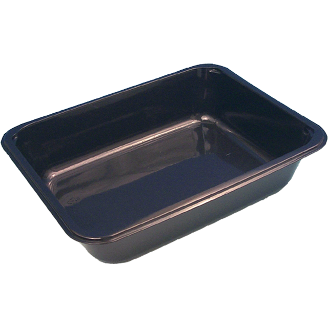 Container, PP, H320, menu container, 312x245x60mm, black 1