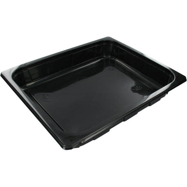 Container, PP, 2800ml, 1/1 gastronorm container , 312x245x50mm, black 1