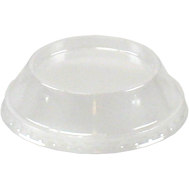 Lid, PS, round, transparent 1