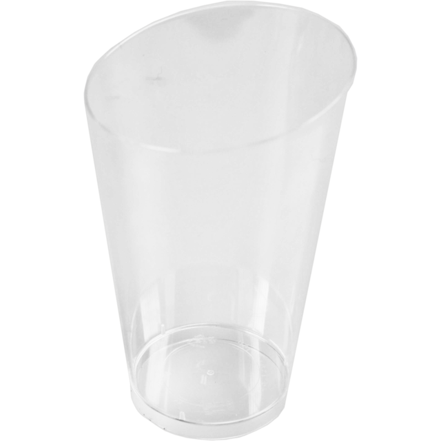 Glas, häppchenbehälter, PS, 70ml, transparant 1