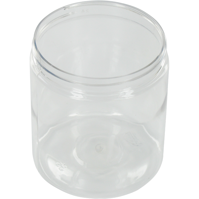 Bottle, pET bottle, PET, round straight-sided jar, 260ml, transparent 1