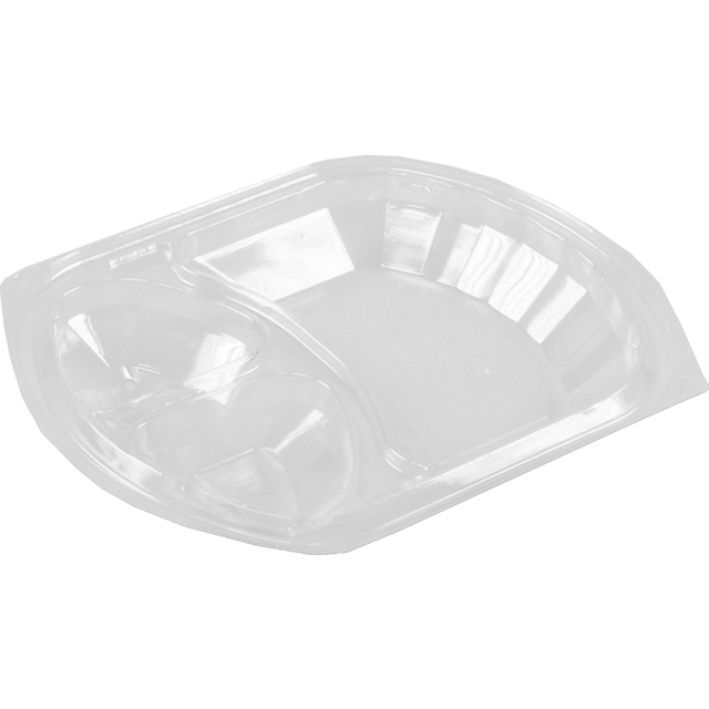 Lid, PP, rectangular, 238x203mm, transparent 1