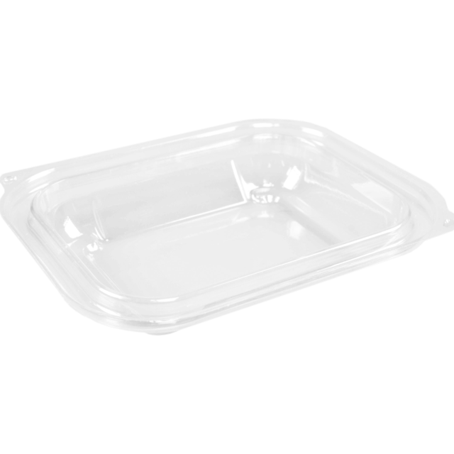 Lid, OPS, rectangular, 159x127mm, transparent 1