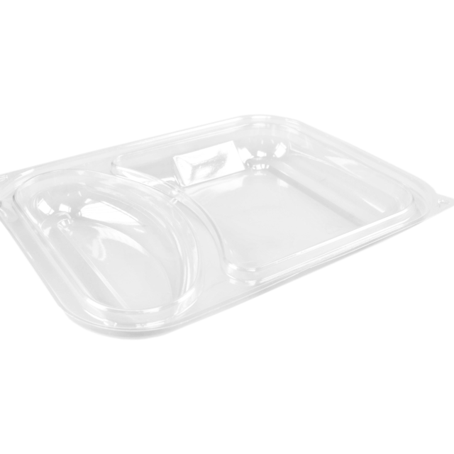 Lid, OPS, rectangular, 227x177mm, transparent 1