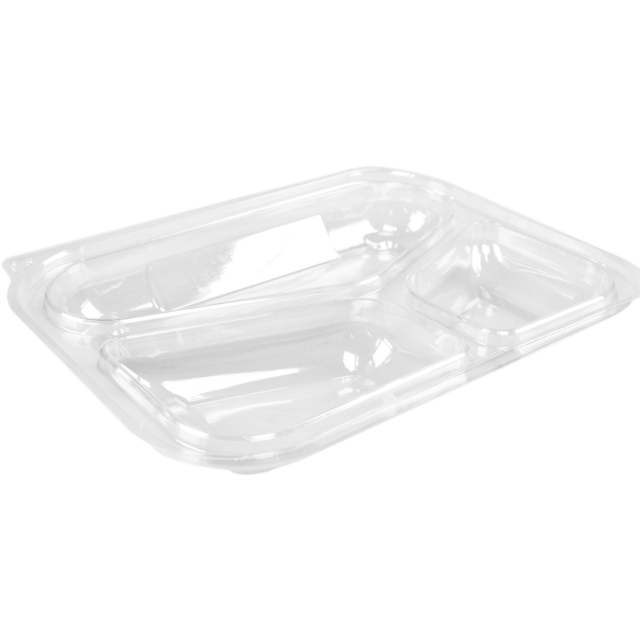 Couvercle, OPS, rectangulaire, 227x177mm, transparent 1