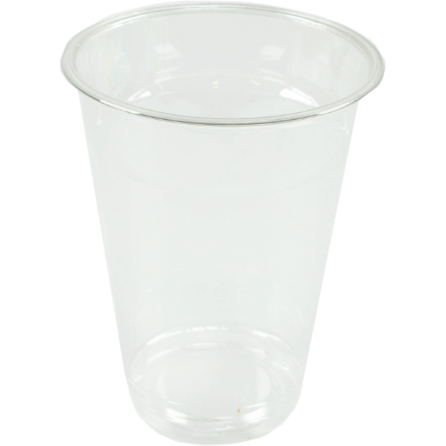 Glas, frisdrankglas, PET, 250ml, 100mm, transparant 1