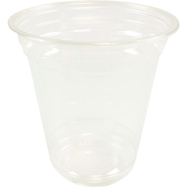 Glas, frisdrankglas, PET, 355ml, 110mm, transparant 1