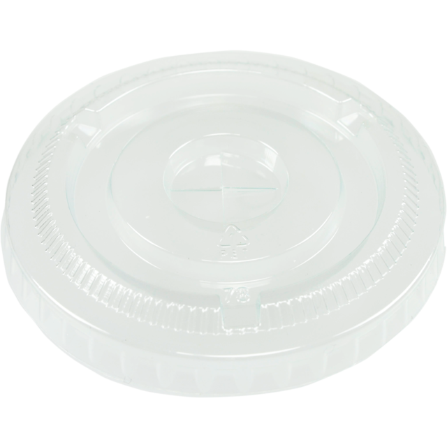 Lid, PET, round, transparent 1