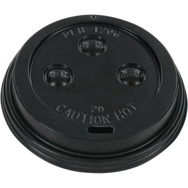 I'M a Concept Lid, I'M a HOT cup, PS, Ø62mm, black 1
