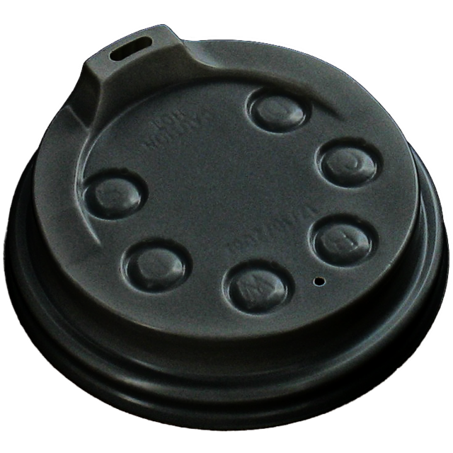 I'M a Concept Lid, I'M a HOT cup, PS, Ø79mm, black 1