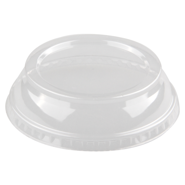 Lid, PP, round, 25mm, transparent 1