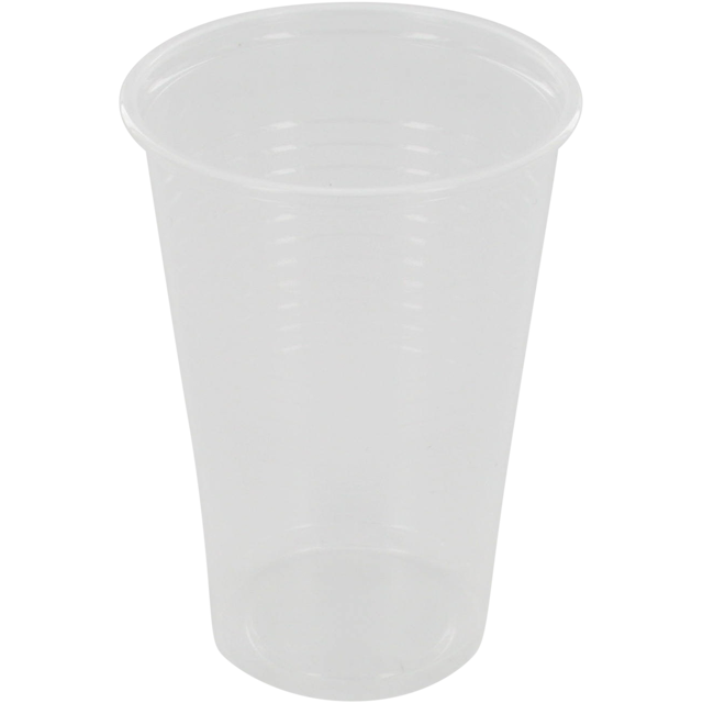 Drinking cup, PP, 200ml, transparent 1