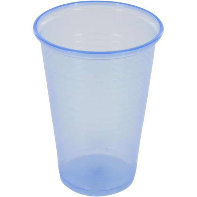 Trinkbecher, PP, 200ml, blau 1