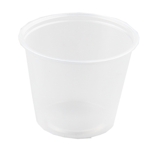 Container, PP, 162ml, Ø76mm, plastic cup, 61mm, transparent 1