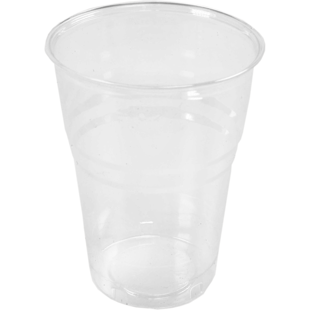 Glass, beer glass, PLA, 200ml, transparent 1