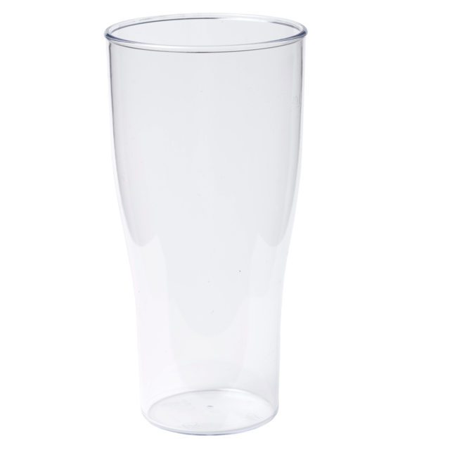 Glass, beer glass, unbreakable, SAN, durables, 400ml,  1