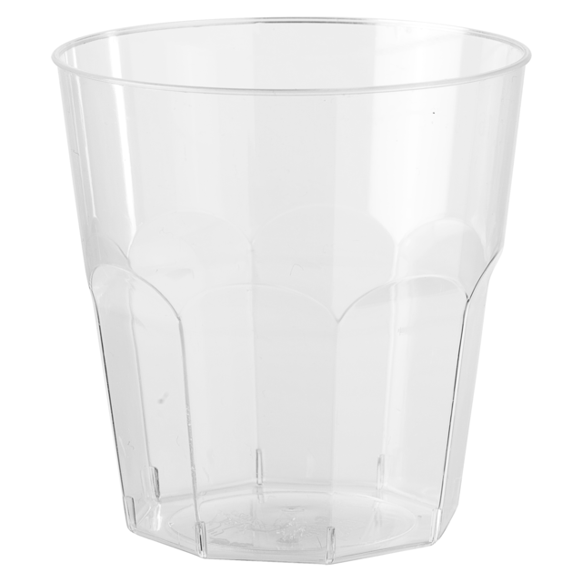 Glas, brasserieglas, PS, classic, 160ml, 75mm, transparant 1
